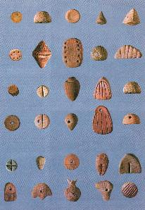 Clay tokens from Susa.