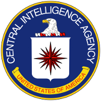 Central Intelligence Agency (Agencia Central de Inteligencia, CIA). Logotipo.