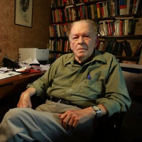 Gene Sharp (1928-2018). Foto: Fotograma de «How to Start a Revolution».