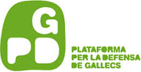 Plataforma per la defensa de Gallecs. Logotip.
